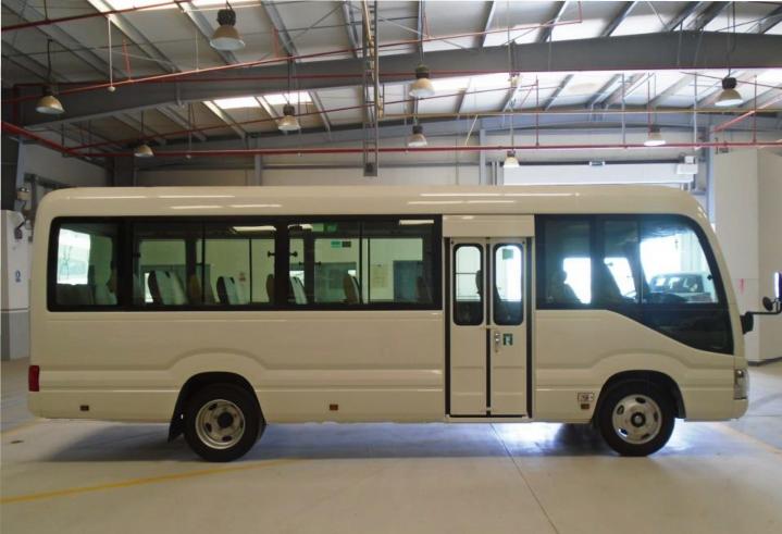 2020 TOYOTA COASTER BUS HIGH ROOF DLX 30 SEATS 4.2L DIESEL M/T