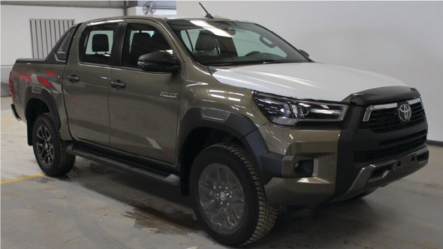 2021 toyota hilux double cab 4wd 2.8 diesel adventure-z at